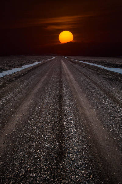 Wall Art - Photograph - Road To The Sun by Aaron J Groen