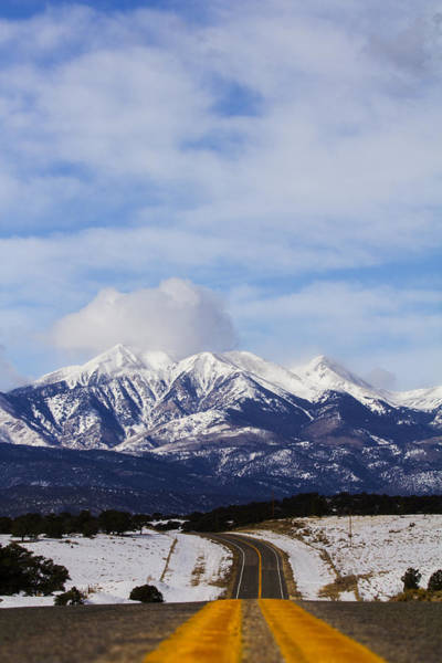 Westcliffe Photograph - Road To The West by Chad Cunningham