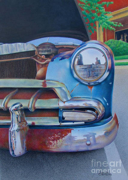 Painting - Road Warrior by Pamela Clements