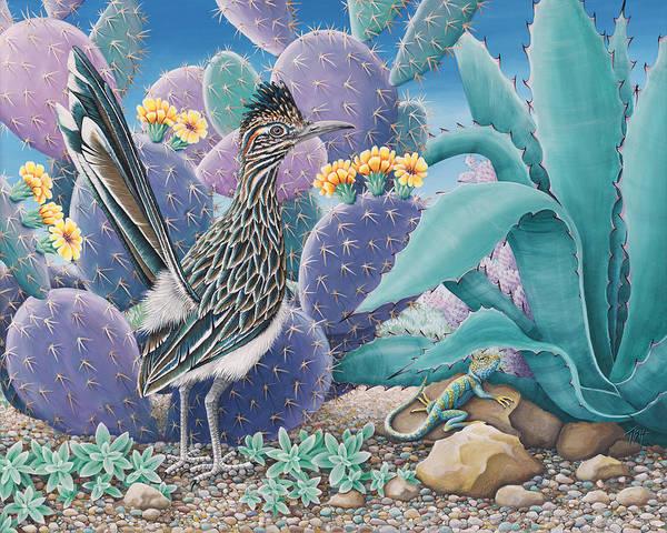 Painting - Roadrunner by Tish Wynne