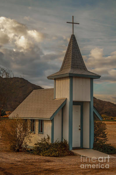 Chapel Bridge Photograph - Roadside Church by Robert Bales