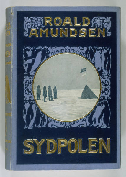 Wall Art - Drawing - Roald Amundsen, The First To  Reach by Mary Evans Picture Library