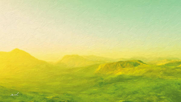 Wall Art - Painting - Roaming Hills And Valleys 1 by The Art of Marsha Charlebois