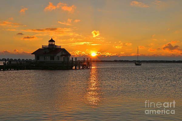 Roanoke Island Wall Art - Photograph - Roanoke Marshes Lighthouse 3210 by Jack Schultz