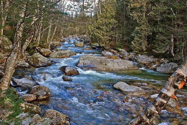 Wall Art - Photograph - Roaring Brook by Charles Cormier