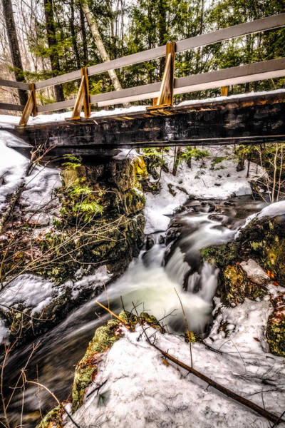 Photograph - Roaring Falls Bridge by Robert Clifford