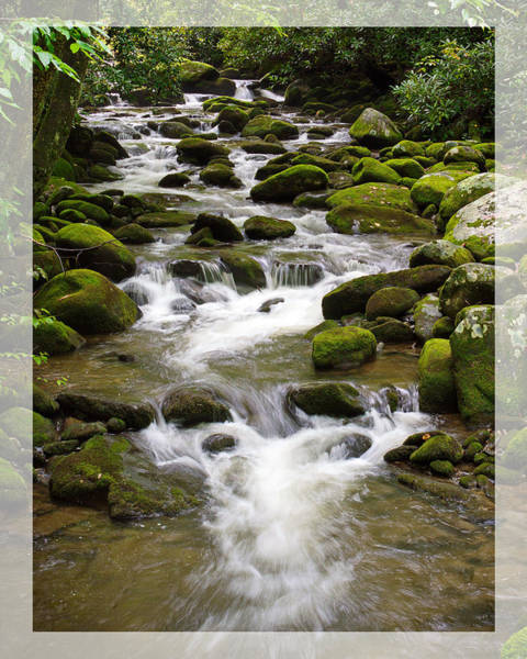Photograph - Roaring Fork With Boarder by Harold Rau