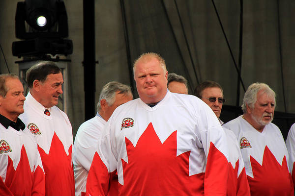Photograph - Rob Ford 1 by Andrew Fare