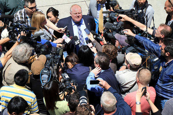 Photograph - Rob Ford 4 by Andrew Fare