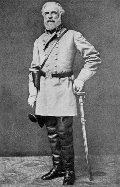Union Soldier Photograph - Robert E Lee by American School