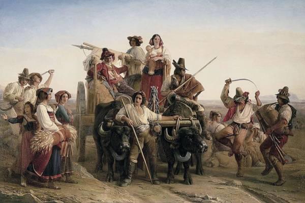 Wall Art - Photograph - Robert, Louis L�opold 1794-1835. The by Everett