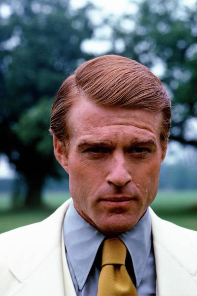 Head And Shoulders Photograph - Robert Redford As Jay Gatsby by Duane Michals