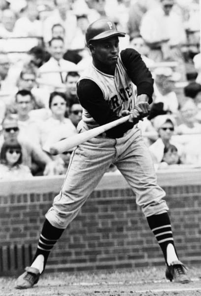Baseball Hall Of Fame Photograph - Roberto Clemente Pirates Great Baseball Player by Retro Images Archive