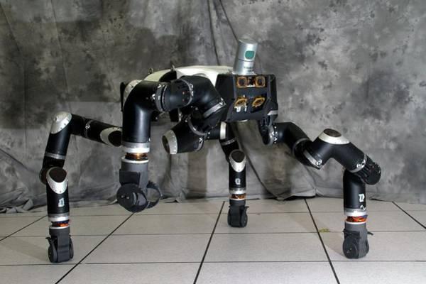 Biomimetics Wall Art - Photograph - Robosimian Robot by Jpl-caltech