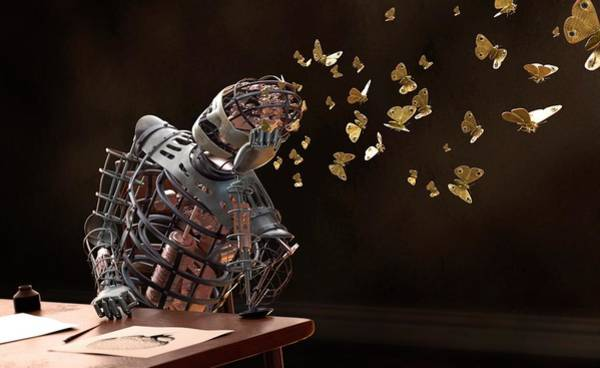 Wall Art - Photograph - Robot Dreams by Tim Vernon / Science Photo Library