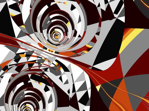 Wall Art - Digital Art - Robot Eyes by David Ridley
