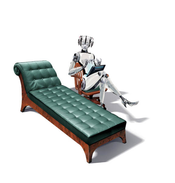 Wall Art - Photograph - Robot Psychotherapist by Smetek/science Photo Library