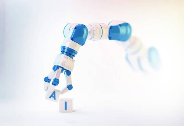Wall Art - Photograph - Robotic Hand by Andrzej Wojcicki/science Photo Library