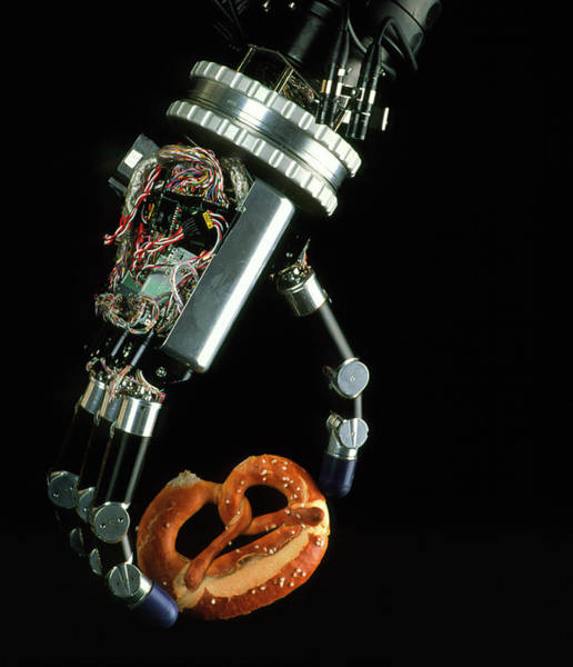 German Food Photograph - Robotic Hand by Peter Menzel/science Photo Library