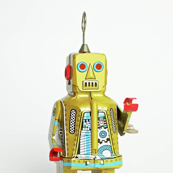 Cut Out Photograph - Robots by Juj Winn