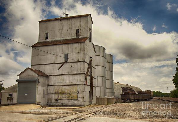 Photograph - Roca Nebraska Elevator by Pam  Holdsworth