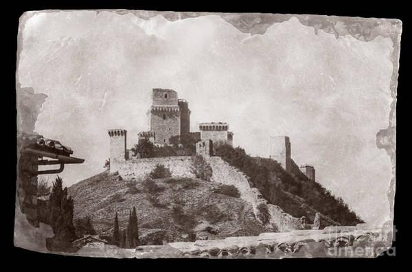 Rocca Maggiore Castle Art Print
