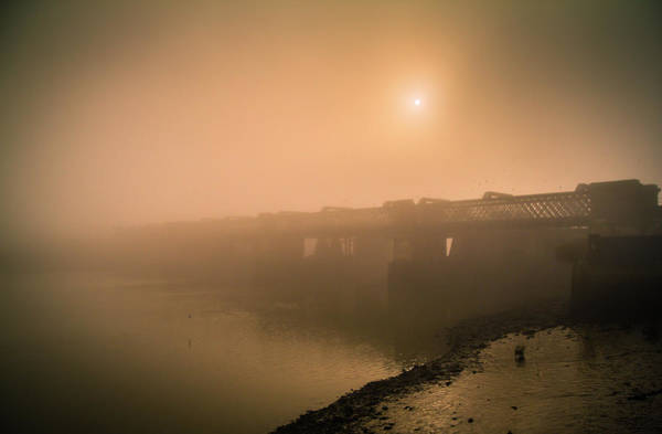Medway Wall Art - Photograph - Rochester Bridge by Dawn OConnor
