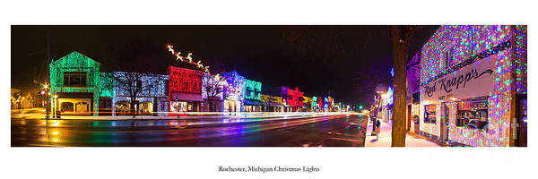 Rochester Photograph - Rochester Holiday Light Show by Twenty Two North Photography