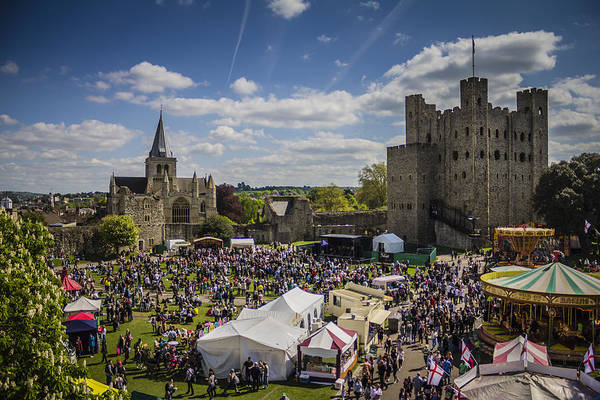 Medway Wall Art - Photograph - Rochester Sweeps Festival by Dawn OConnor