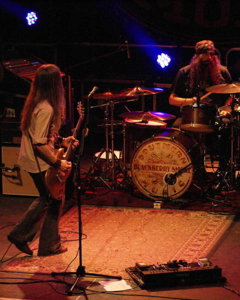 Photograph - Rock And Roll From Blackberry Smoke by Ben Upham