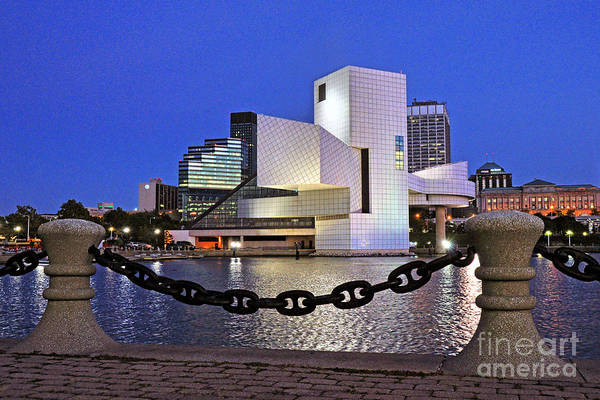 Rock And Roll Hall Of Fame - Cleveland Ohio - 1 Art Print