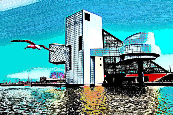 Rock And Roll Hall Of Fame - Cleveland Ohio - 4 Art Print