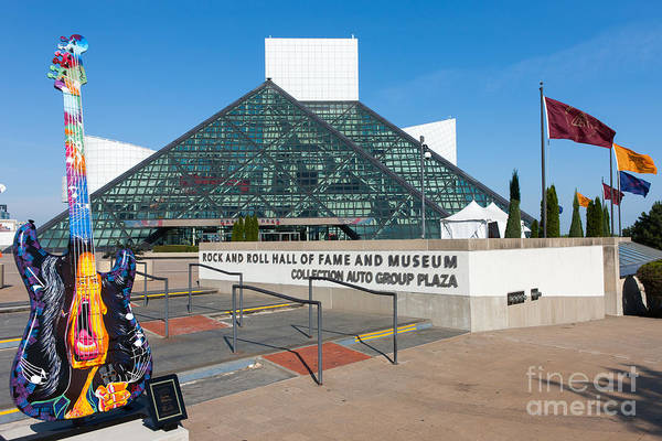 Rock And Roll Hall Of Fame IIi Art Print