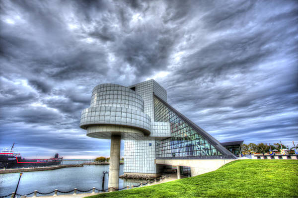 Michael Jackson Photograph - Rock And Roll Hall Of Fame by Shawn Everhart