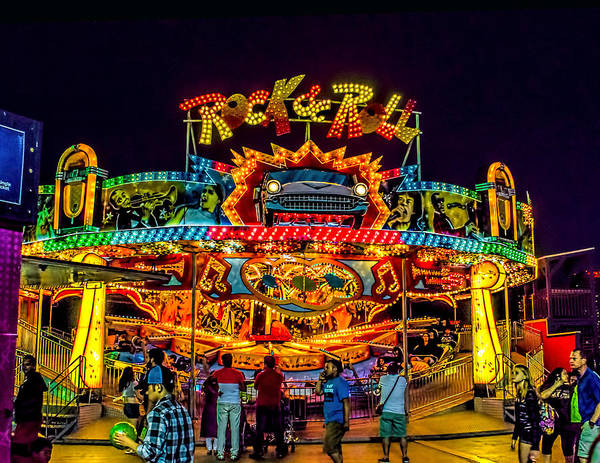 Photograph - Rock And Roll On The Boardwalk by Nick Zelinsky