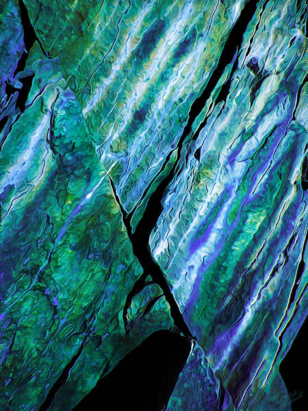 Vertical Line Digital Art - Rock Art 15 by ABeautifulSky Photography by Bill Caldwell