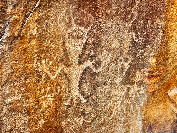 Photograph - Rock Art by Mae Wertz
