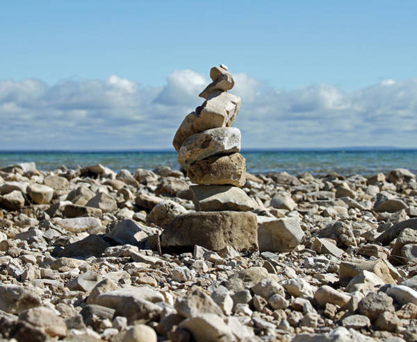 Photograph - Rock Cairn by Jackson Pearson