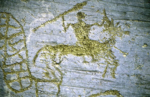 Wall Art - Photograph - Rock Carving by Sheila Terry/science Photo Library