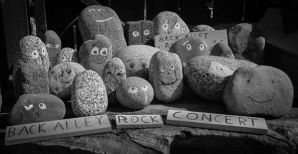 Photograph - Back Alley Rock Concert by Marilyn Wilson