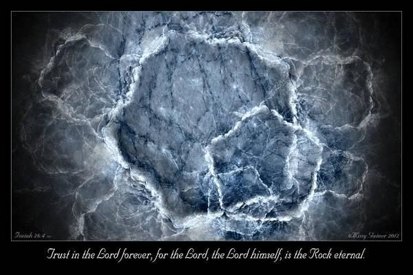 Digital Art - Rock Eternal by Missy Gainer
