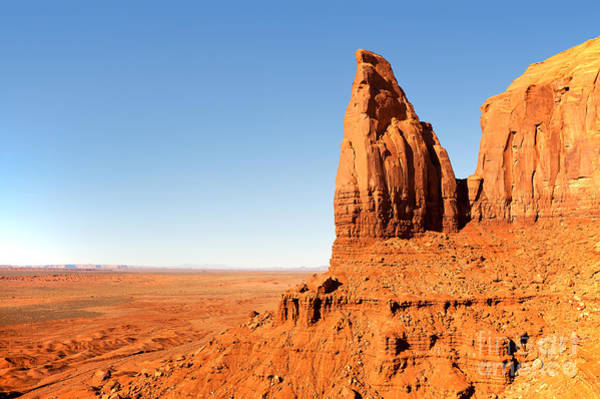 Navajo Indian Reservation Photograph - Rock Formation by Jane Rix