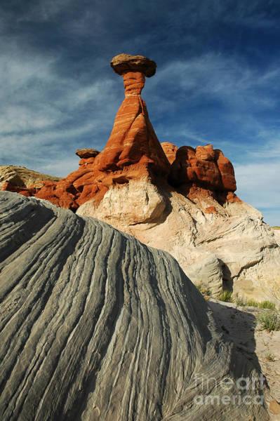 702a Rock Formation Art Print