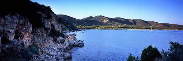 Elba Photograph - Rock Formations At Seaside, Golfo by Panoramic Images