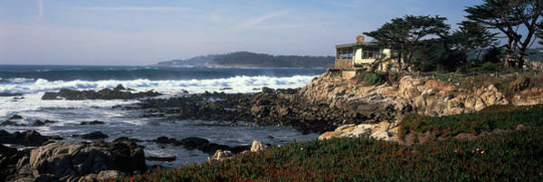 Carmel By The Sea Photograph - Rock Formations In The Sea, Carmel by Panoramic Images