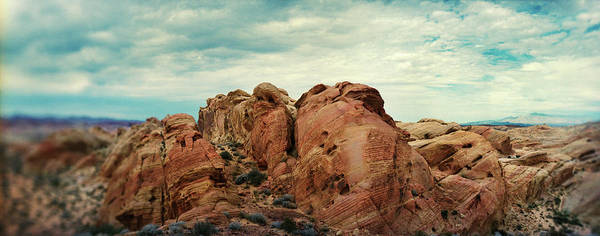 Valley Of Fire Photograph - Rock Formations In The Valley Of Fire by Panoramic Images