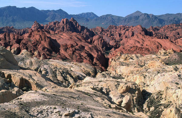 Toughness Photograph - Rock Formations In White Domes Area by John Elk