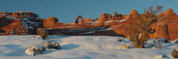 Wall Art - Photograph - Rock Formations In Winter, Delicate by Panoramic Images