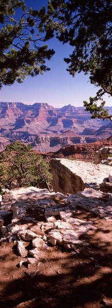 Mather Point Photograph - Rock Formations, Mather Point, South by Panoramic Images