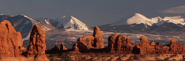 Wall Art - Photograph - Rock Formations With Snow Covered by Panoramic Images